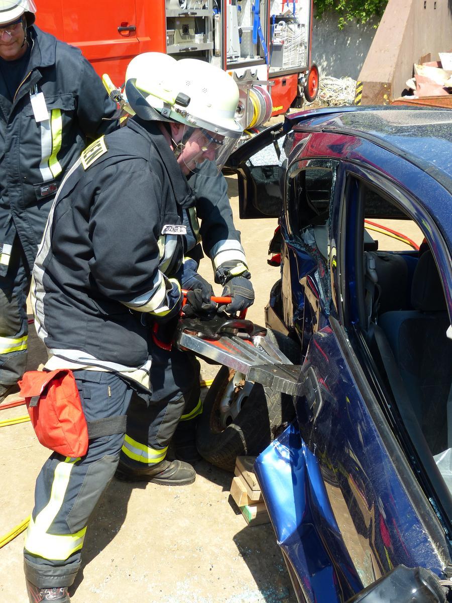FOTO: Andreas Seegmüller; 30.10.2020; AB MOTIV: Symbolbilder Freiwillige Feuerwehr Gunzenhausen Ausbildung technische Hilfeleistung