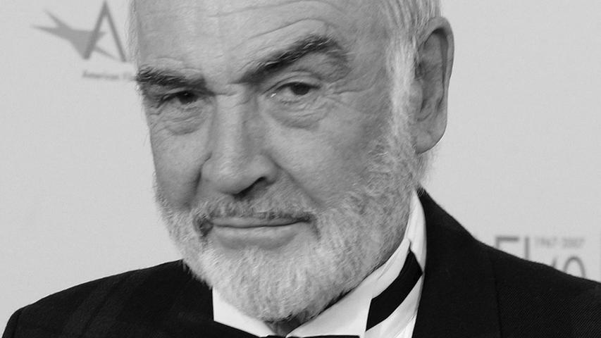 Der schottische Ex-James Bond-Star Sean Connery ist im Alter von 90 Jahren gestorben.Der im Jahr 1930 in Edinburgh geborene Connery war der erste James-Bond-Darsteller - und für viele Fans auch der beste.