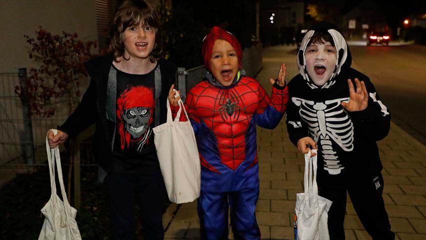 Halloween in Forchheim..31.10.20....Foto: Edgar Pfrogner