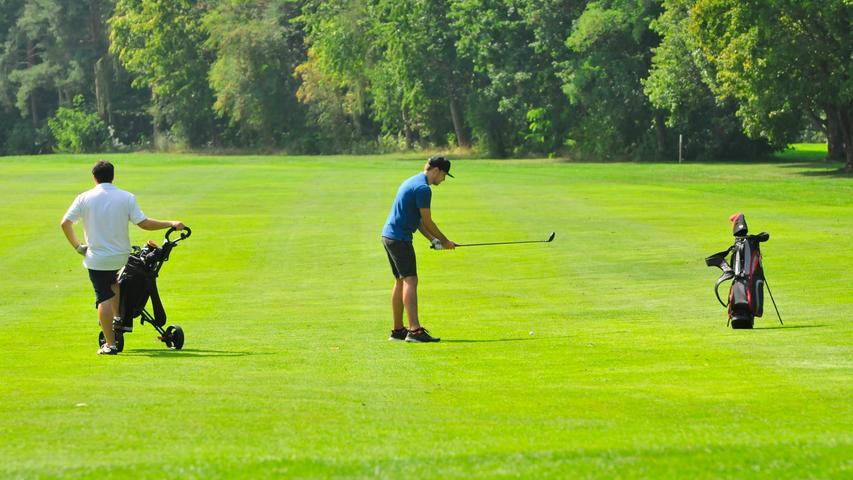 Der Golfplatz bei Atzenhof