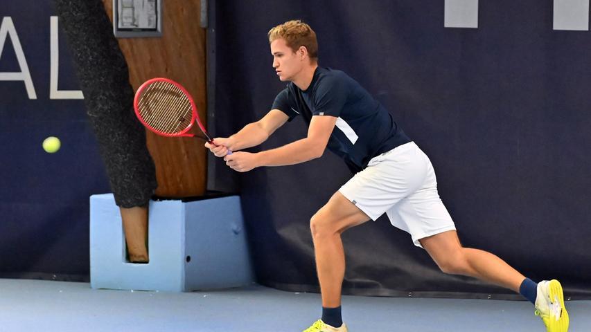 Top-Tennis auf dem Teppich: Das ATP-Challenger-Turnier in Eckental