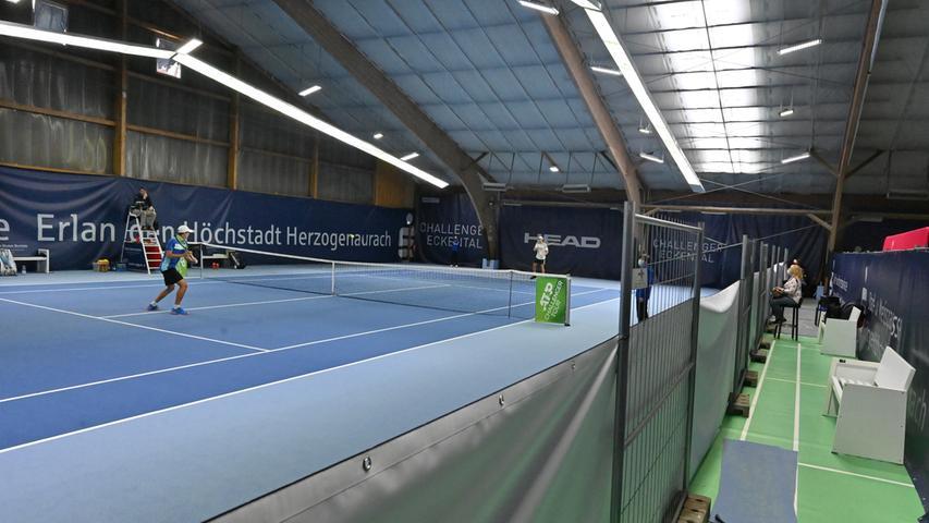 ATP Challenge Tennis in Eckental. .Foto: Klaus-Dieter Schreiter.