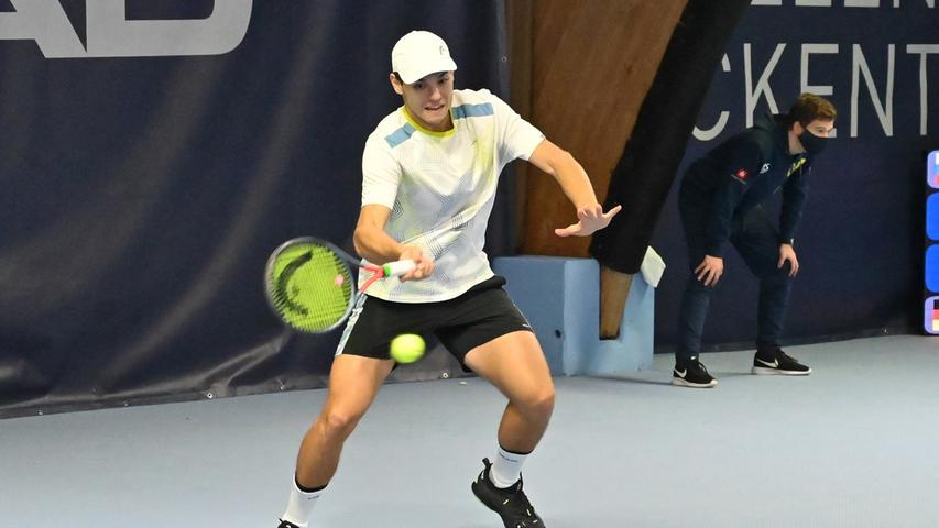 ATP Challenge Tennis in Eckental. Igor Sijsling.Foto: Klaus-Dieter Schreiter.