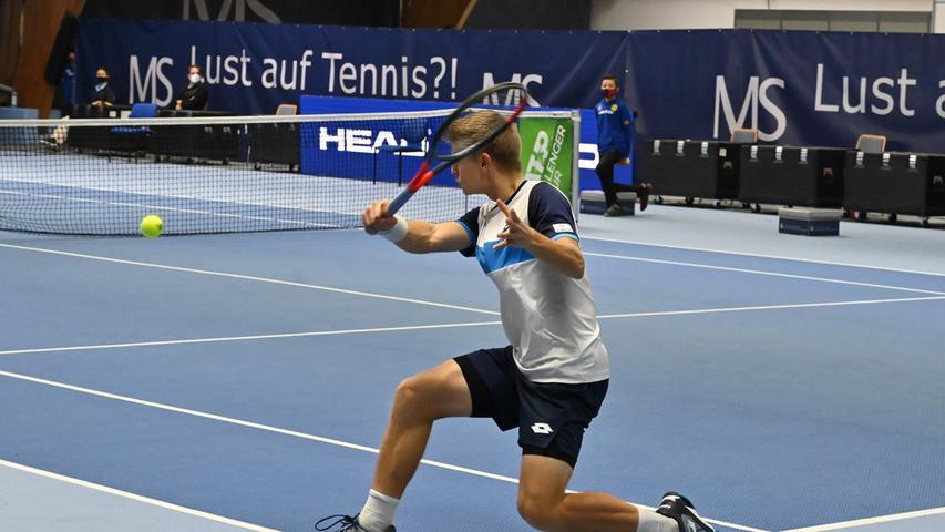 ATP Challenge Tennis in Eckental. Hier Marvin Möller..Foto: Klaus-Dieter Schreiter.