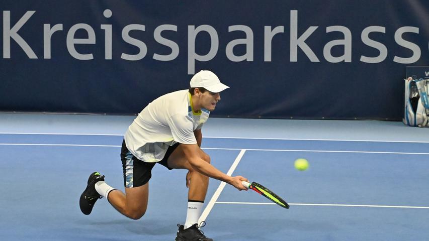 ATP Challenge Tennis in Eckental. Hier Igor Sijsling.Foto: Klaus-Dieter Schreiter.