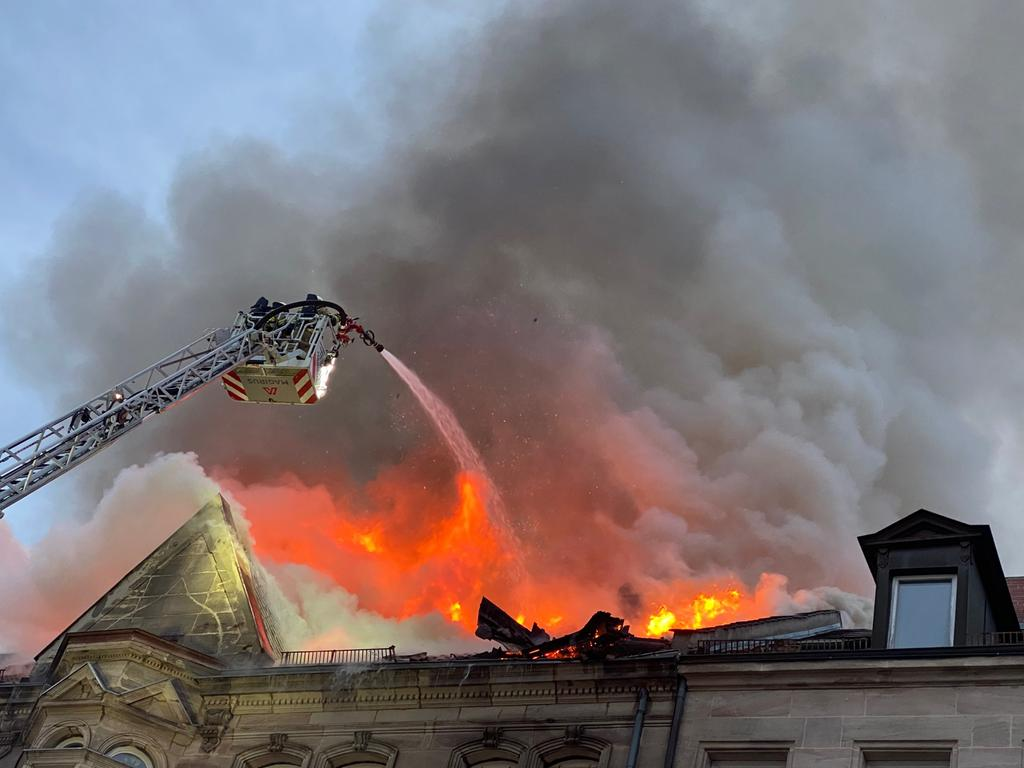 Feuer in Fürth