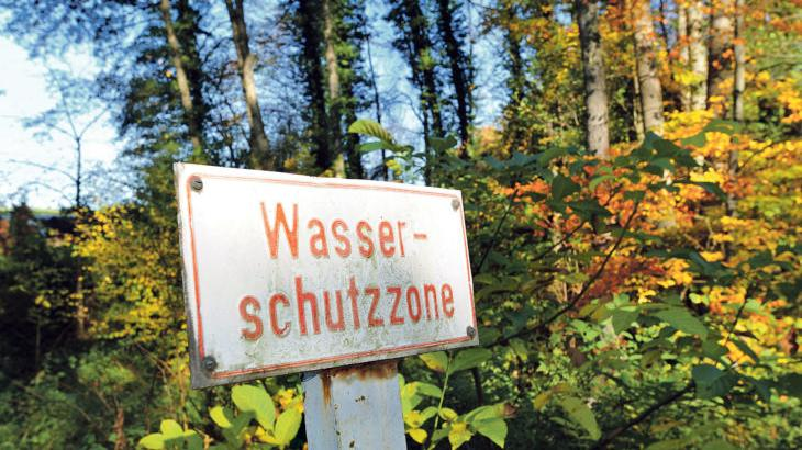 Die Moritzberggruppe versorgt das Leinburger Gemeindegebiet und Teile Röthenbachs mit Trinkwasser; ihre Brunnen liegen am Moritzberg und im Tal zwischen Diepersdorf und Rockenbrunn. Oberhalb von Haimendorf befindet sich der Hochbehälter des Wasserversorgers.