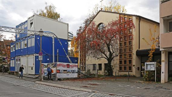 Zurzeit nur selten analog geöffnet: die Neuapostolische Kirche Nürnberg-Mitte an der Karlstraße in der Altstadt.