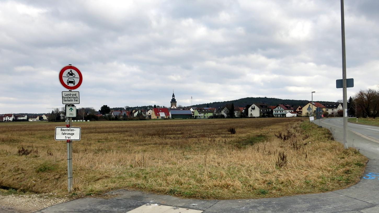 Hier soll es entstehen: Das Neubaugebiet Pointäcker-Süd bei Kersbach.