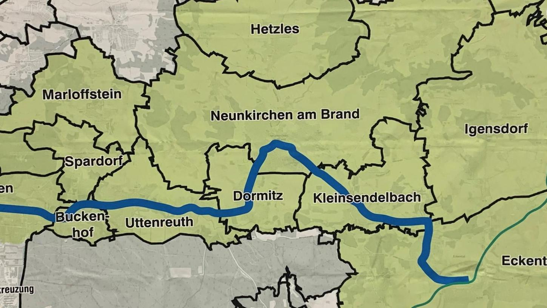 Bisher sind es nur Pläne: Die Streckenerweiterung der Stadt-Umland-Bahn (StUB) durch das Schwabachtal bis nach Eckental stieß bei den Gräfenberger Stadträten auf offene Ohren. Hier würde die StUB dann auf die Gräfenbergbahn stoßen, was für Schüler und Pendler enorme Vorteile hätte.
