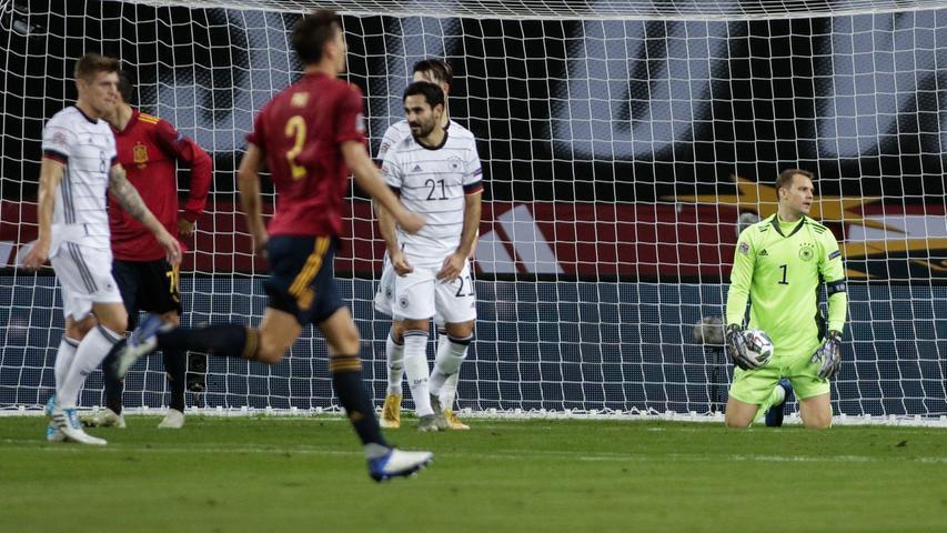Historische Niederlage: DFB-Team blamiert sich mit 0:6 gegen Spanien