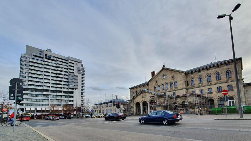 Die CSU hält Hochhausbauten n der Größenordnung des gegenüber liegenden Bahnhof-Centers für denkbar.