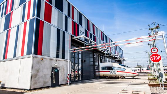 Warum braucht die Bahn ein ICE-Werk im Raum Nürnberg?