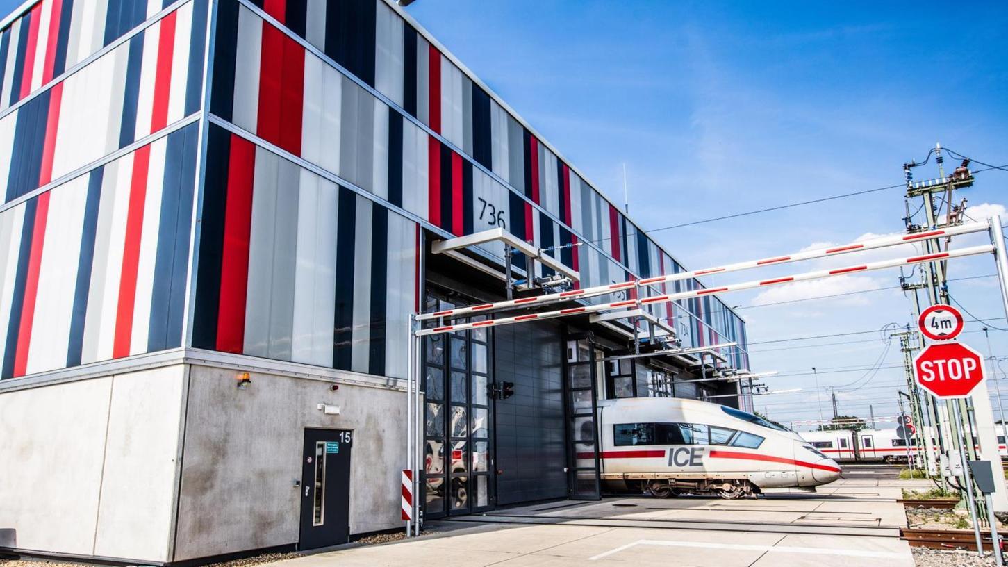 Das ICE-Werk in Köln-Nippes ist Vorbild für das geplante, 400 Millionen Euro teure Werk in der Metropolregion Nürnberg.