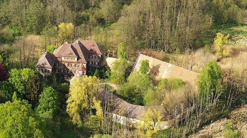 Dieses Schloss gilt als eines der ältesten Adelssitze Frankens.