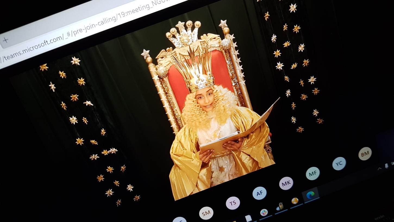 Das Christkind Benigna Munsi wird in der Adventszeit in einem digitalen Adventskalender zu finden sein, alle Auftritte im realen Leben sind abgesagt.