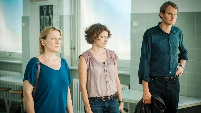 Franken kann sich noch entwickeln: Weder Kommissarin Ringelhahn (Dagmar Manzel) noch Kollegin Goldwasser (Eli Wasserscheid) und der zahme Voss (Fabian Hinrichs) haben Verhaltensauffälligkeiten. Einfach nett!