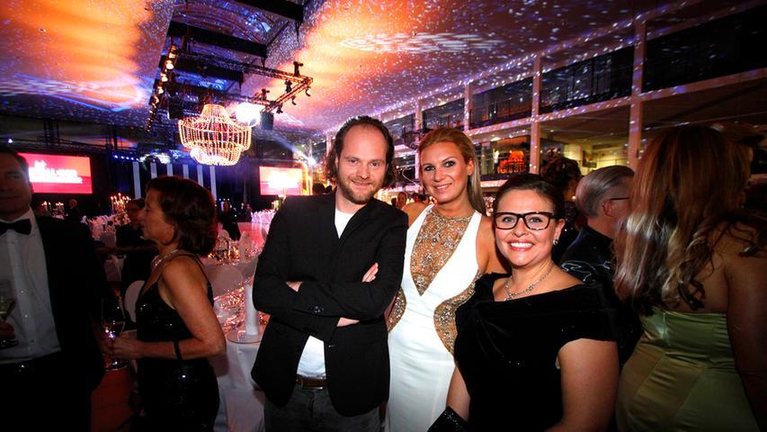Ermittlung mit Sektglas: 2015 war auch Frankentatort-Schauspieler Andreas Leopold Schadt dabei.