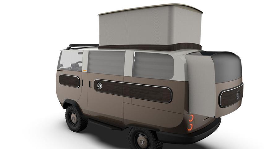Zu den vielen geplanten Varianten zählt auch der mit Kühlschrank, TV, Kochfeld, Frischwassertank, Spüle und Liegefläche (210 x 130 cm) ausgestattete Camper, für den ab 26.800 Euro veranschlagt werden. Ergänzend soll es eine Pritschen-Version mit Kippfunktion, einen Kastenwagen, einen Universaltransporter, einen Pick-up-Kombi, ein Cabrio Pick-up und das Standard-Fahrgestell (ab 15.800 Euro) geben.