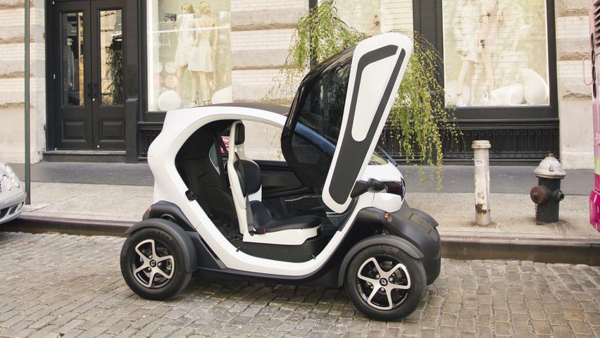 Wird seit 2011 produziert: Renault Twizy.