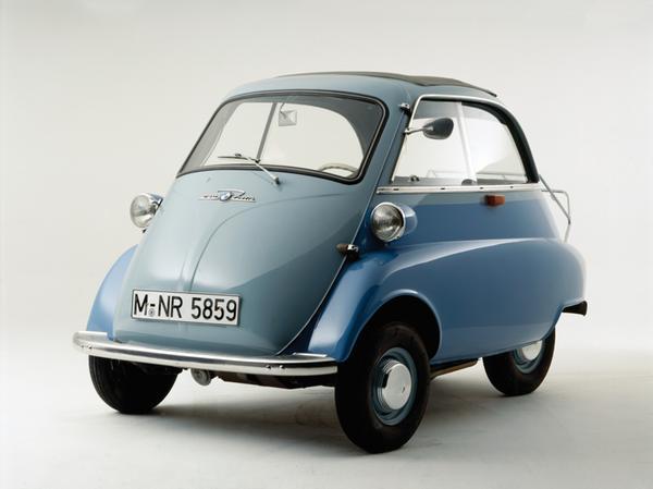 Leichtfahrzeug aus der Nachkriegszeit: Die Isetta.