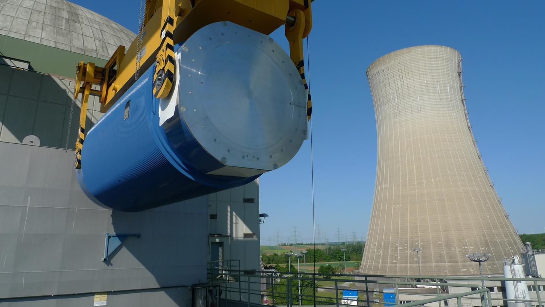 Am 16. Mai 2020 wurde der letzte Castor-Behälter mit Brennelementen aus dem Kernkraftwerk Grafenrheinfeld geschleust. Im Dezember folgt nun ein letzter Castor mit 43 verbliebenen Sonderbrennstäben.