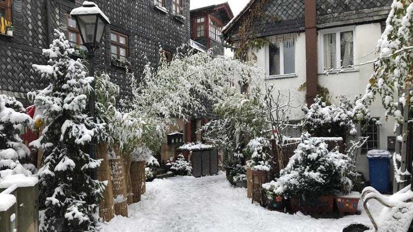 Es schneit, es schneit: Das sind die Bilder der Redaktion