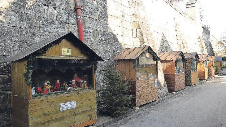 Die Krippenhäuser in der Neunkirchener Kirchengasse