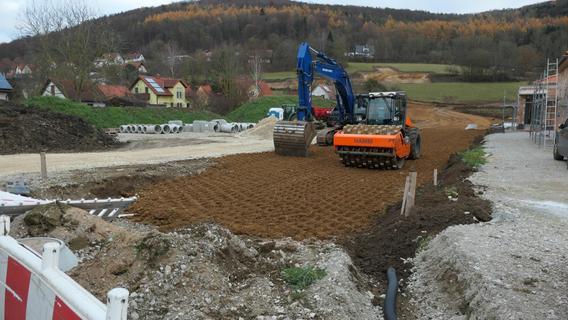 Niederfellendorf: Erschließung des Baugebiets Wirtsäcker II hat begonnen