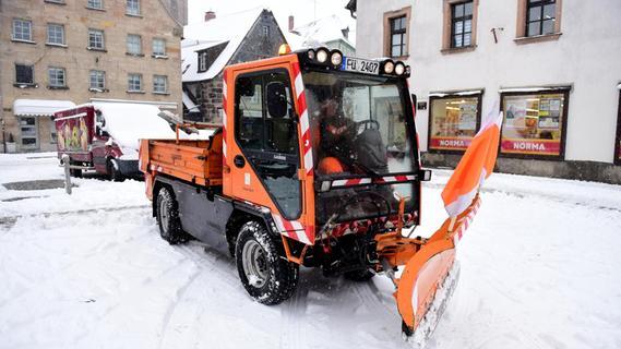 Gute Vorbereitung verhindert in Fürth das Winterchaos