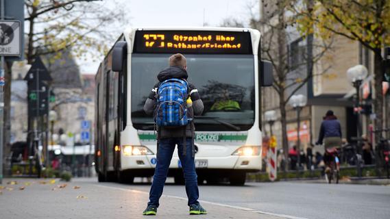 An Samstagen rollen Fürther Busse nun häufiger...