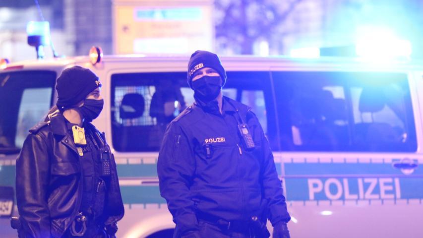 Straßensperre und Polizeieinsatz: Bombenverdacht am Hauptbahnhof