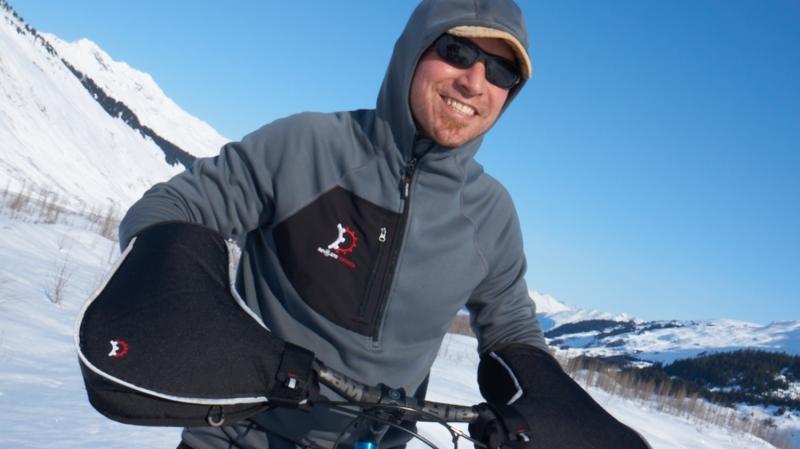 Lösung für extreme Kälte: Lenkerstulpen wie die