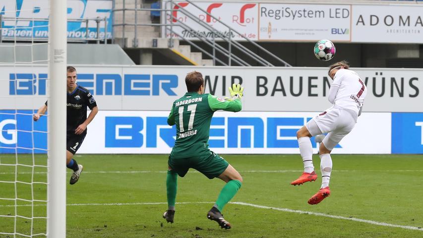 Dritter Saisonsieg! Der FCN kämpft sich zum Paderborn-Dreier