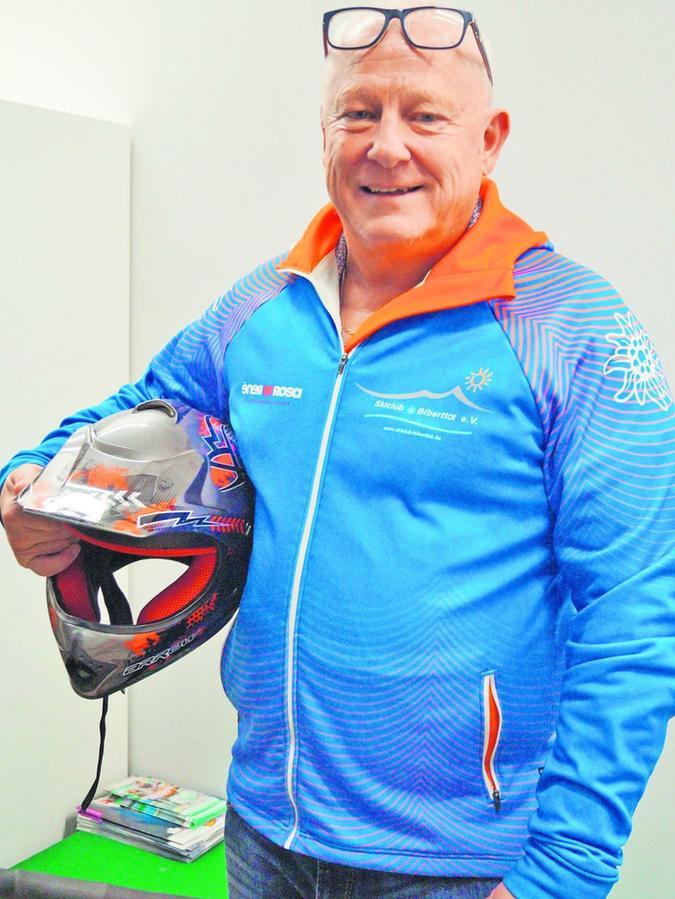 Heinz Straßner (60) ist seit Gründung des Skiclubs Biberttal im Vorstand.