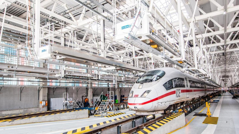 So etwa wird es auch in dem neuen Werk in Franken aussehen: das ICE-Instandhaltungswerk in Köln-Nippes.