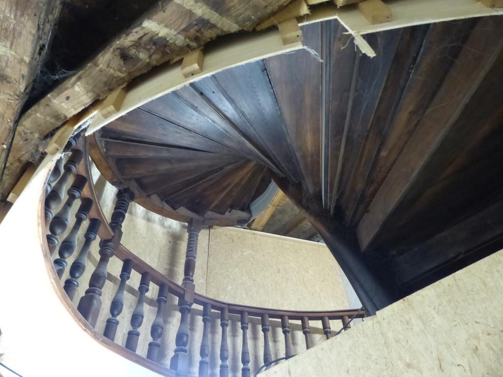 Sanierung Rathaus Forchheim, Rundgang, barocke Treppe..08.12.20....Foto: Pauline Lindner
