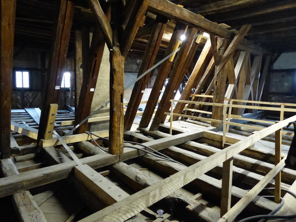 Sanierung Rathaus Forchheim, Rundgang, Dachboden..08.12.20....Foto: Pauline Lindner