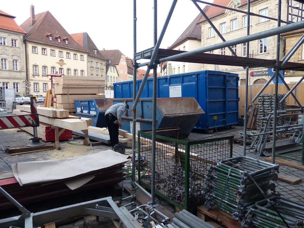 Sanierung Rathaus Forchheim, Rundgang..08.12.20....Foto: Pauline Lindner