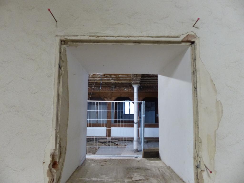 Sanierung Rathaus Forchheim, Rundgang, Erdgeschoss mit Markthalle..08.12.20....Foto: Pauline Lindner
