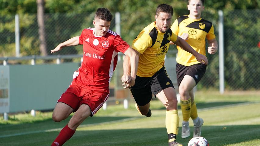 Der FV Dittenheim kämpft um die Top-Plätze in der Bezirksliga. Stürmer Philipp Unöder muss seit dem Spiel im September in Roth aber verletzungsbedingt zuschauen.