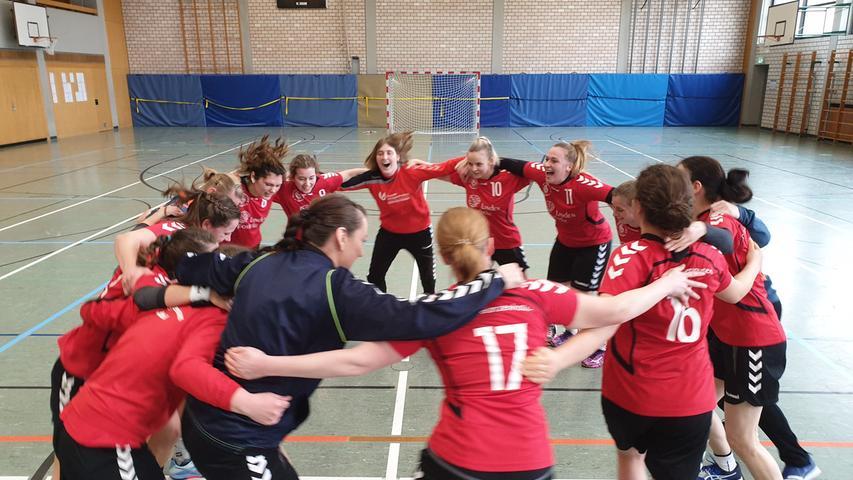 Ein Bild aus einer besseren Zeit. Es ist der 8. März 2020 als die Handball-Damen des TV Gunzenhausen mit Trainer Michael Engelhardt die Meisterschaft in der Bezirksklasse 2 holen. Kurz danach schlägt das Coronavirus mit voller Härte zu.