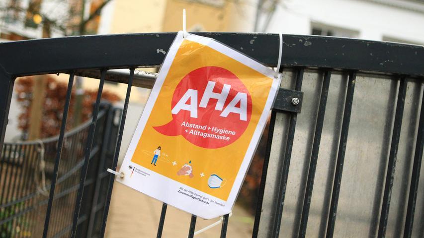 Die AHA-Regel, die inzwischen überall verbreitet ist, heißt: Abstand, Hygiene, Alltagsmaske.