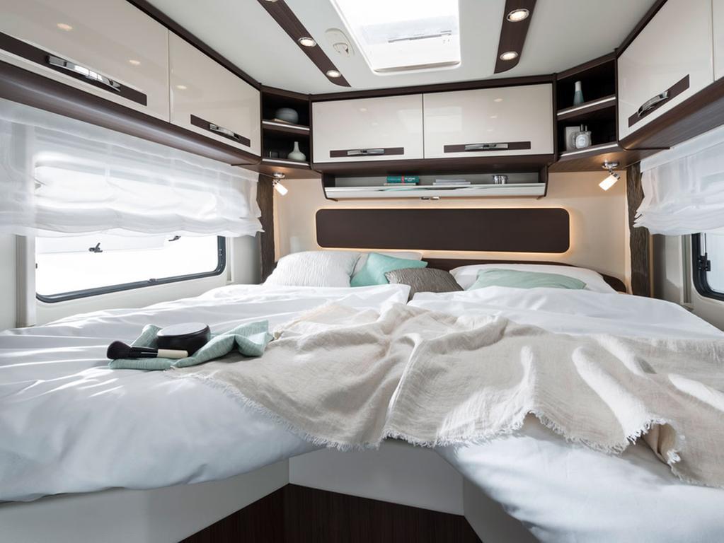 Im Luxus-Wohnmobil ist eher