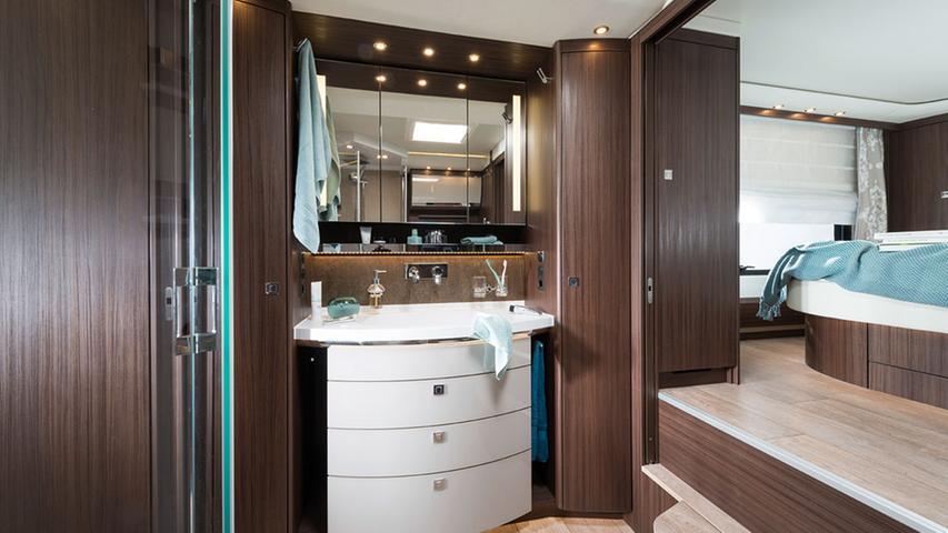 So viel Platz bietet ein Luxus-Wohnmobil