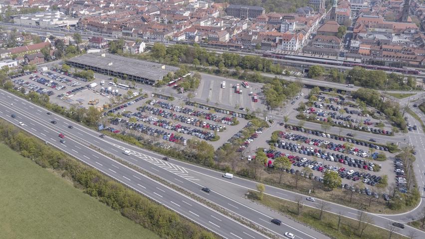 Auch der Großparkplatz steht auf der Agenda, wenn es um eine grundlegende Neufassung des Parkraumkonzepts geht.