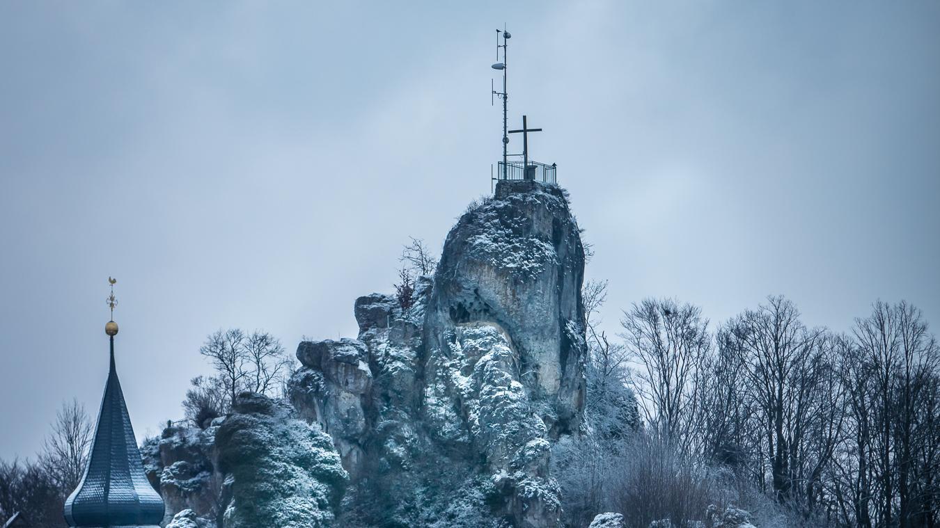 Das Wahrzeichen in Wichsenstein soll freigelegt werden