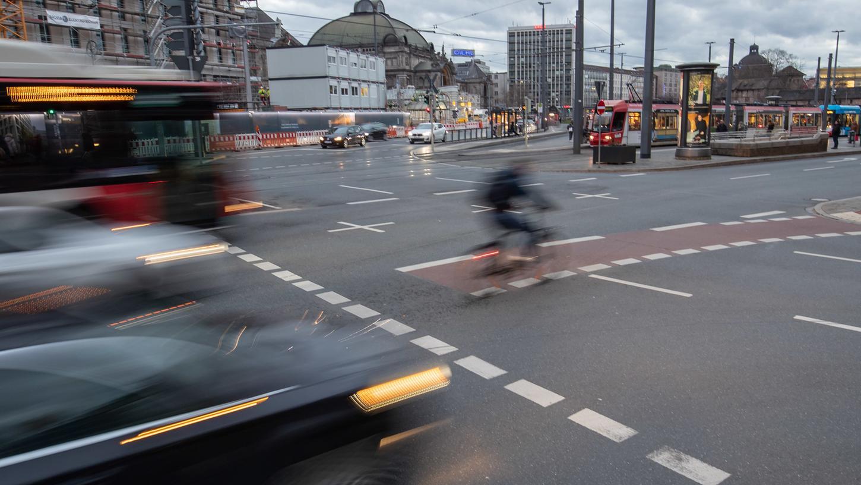 Der Radentscheid soll die Verkehrssicherheit erhöhen.