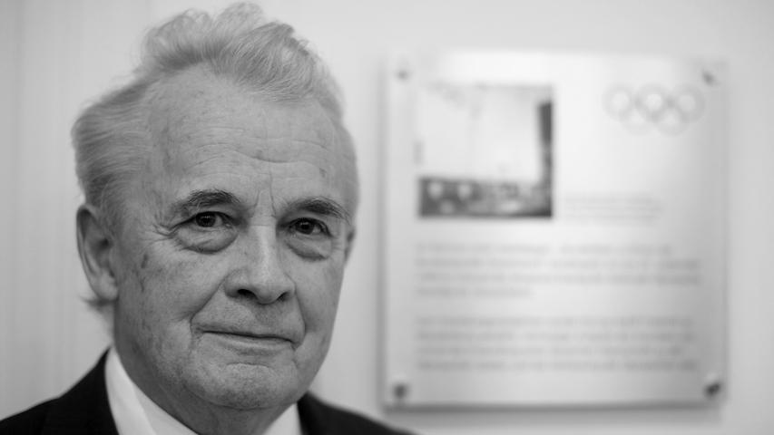 Der ehemalige Präsident des Nationalen Olympischen Komitees (NOK), Walther Trögerist im Alter von 91 Jahren gestorben.