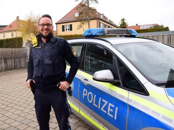 Andreas Minnameyer glaubt an die präventive, nicht messbare Wirkung der Body-Cam. Bisher hat er noch keine strafrechtlich relevanten Aufnahmen damit gemacht.